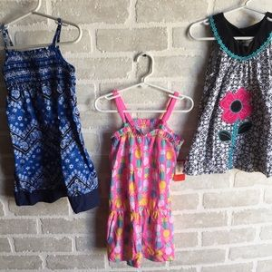 Girls size 4 summer dress lot